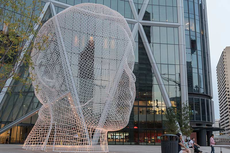 the bow building in Calgary downtown