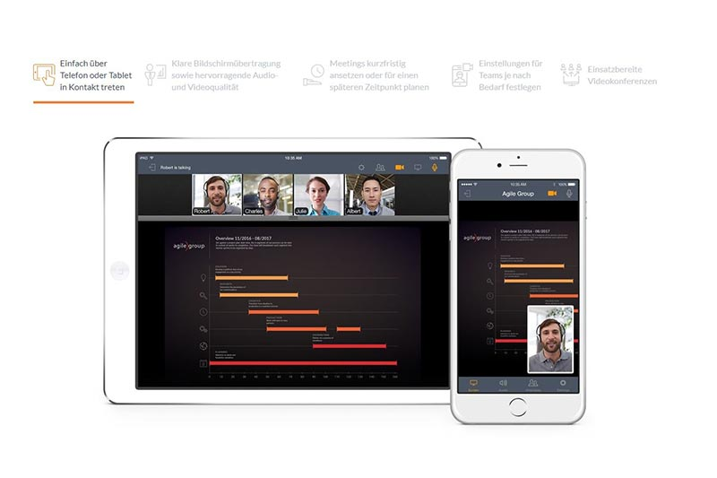 screenshot of project management tool gotomeeting