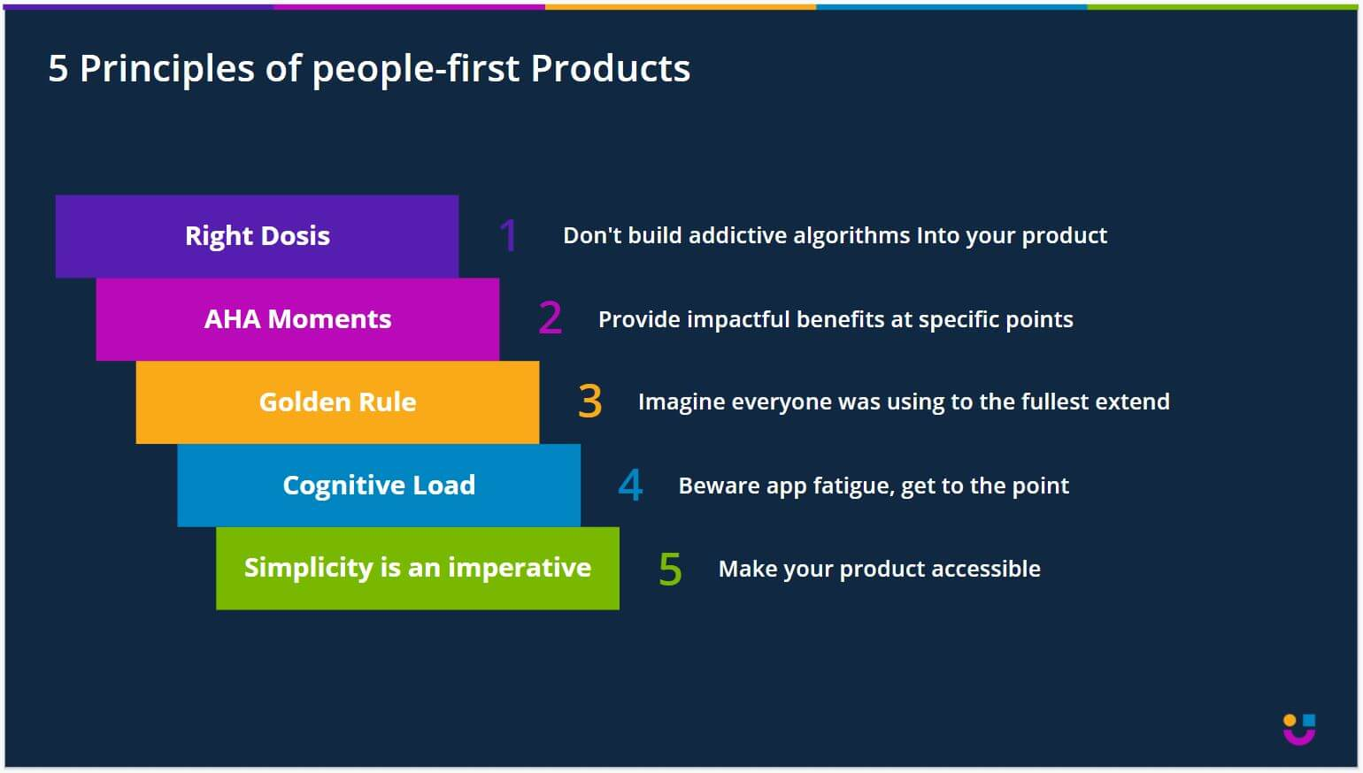 5 principles of building people-first products