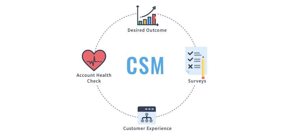 chart explaining different roles of csm