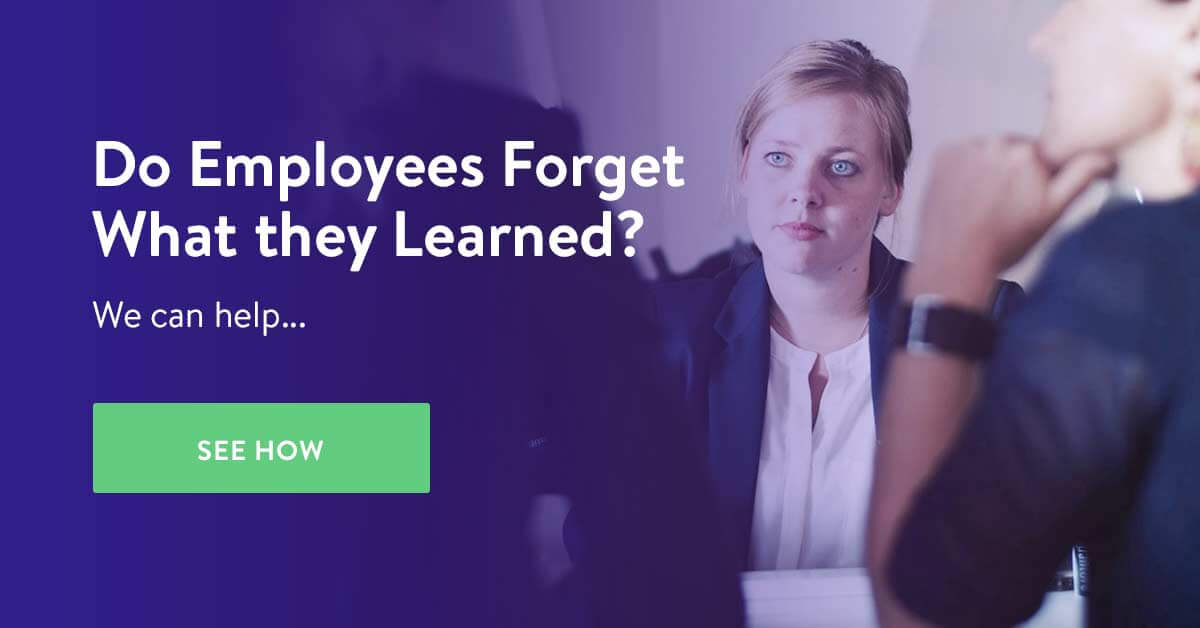 fight the employees forgetting curve with Userlane