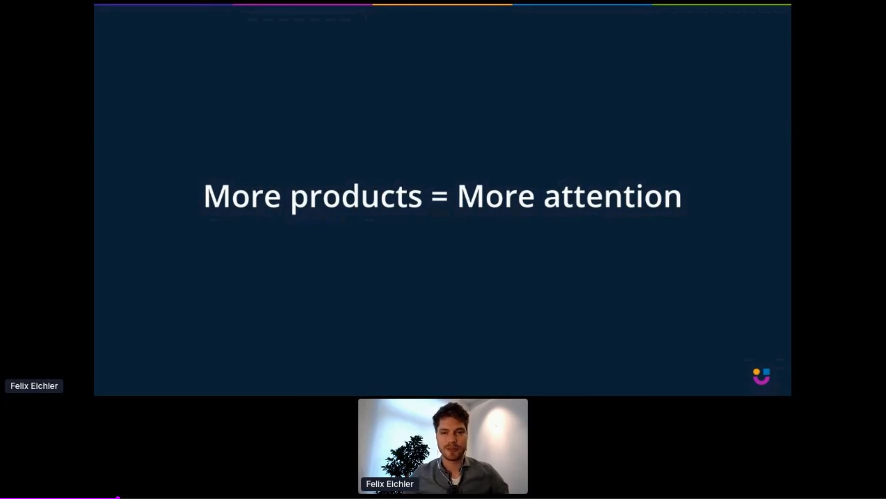 more products = more attention