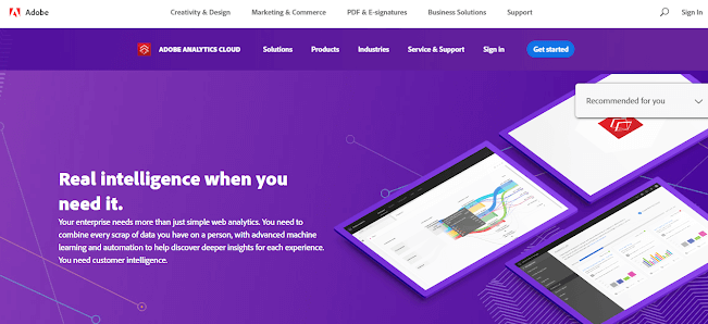 adobe analytics homepage example for product managers