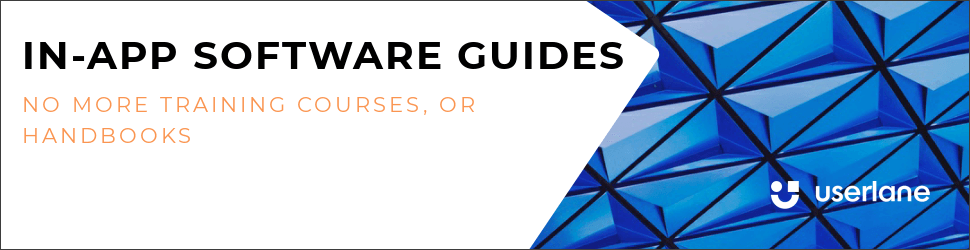 Userlane in-app software guides