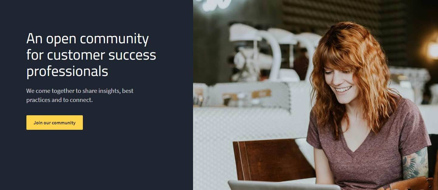 Open community for customer success managers