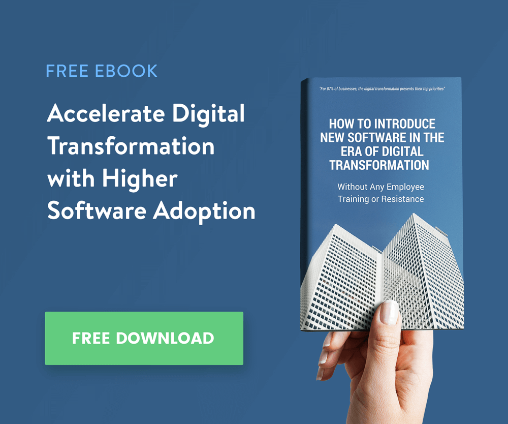 Userlane ebook on Software implementation and digital transformation