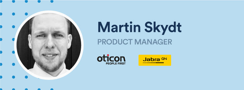 Martin Skydt, product manager
