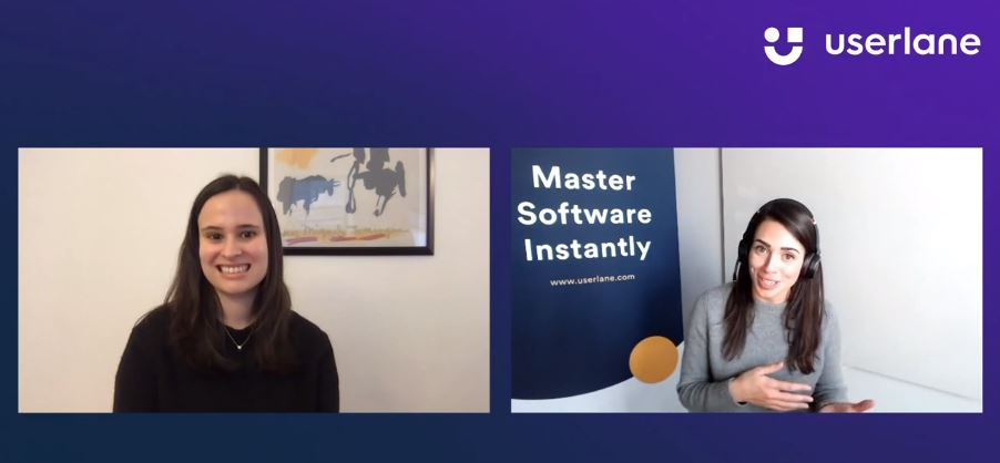 Maggie Quigley and Rebecca Mass address how to handle friction in the client experience in this webinar organized by Userlane.